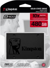 SSD Kingston A400 480 GB