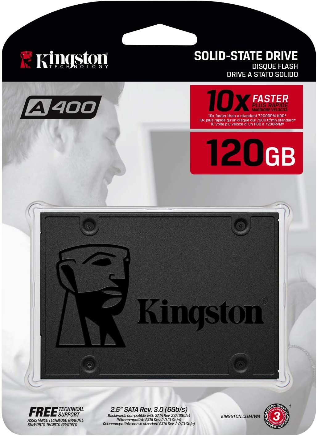 SSD Kingston A400 120 GB